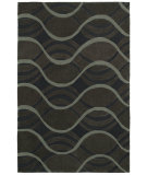 RugStudio presents Shaw Loft Sea Of Tranquility Black 19500 Hand-Tufted, Good Quality Area Rug
