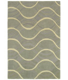RugStudio presents Shaw Loft Sea Of Tranquility Grey 19510 Hand-Tufted, Good Quality Area Rug
