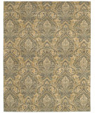 RugStudio presents Shaw Arabesque Sheffield Blue Smoke 08400 Woven Area Rug