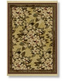 RugStudio presents Shaw Classic Style Boudreaux Natural - 7100 Machine Woven, Better Quality Area Rug