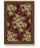 RugStudio presents Shaw Classic Style Boudreaux Garnet - 7800 Machine Woven, Better Quality Area Rug