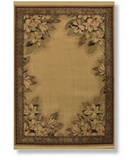 RugStudio presents Shaw Classic Style Boudreaux Border Natural - 22100 Machine Woven, Better Quality Area Rug
