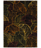 RugStudio presents Shaw Tommy Bahama Home-Nylon Sunset Palms Black 50500 Area Rug
