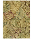 RugStudio presents Shaw Tommy Bahama Home-Nylon Sunset Palms Ivory 50120 Area Rug