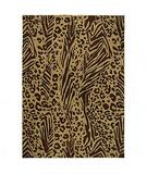 RugStudio presents Shaw Modern Works Tanzania Dark Brown 09720 Machine Woven, Good Quality Area Rug