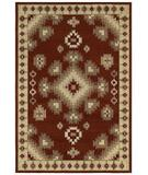 RugStudio presents Shaw Concepts Taos Red 01800 Machine Woven, Good Quality Area Rug