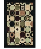 RugStudio presents Shaw Modern Elements Tribeca Black - 15500 Machine Woven, Good Quality Area Rug