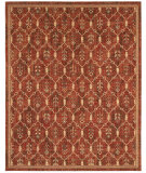 RugStudio presents Shaw Arabesque Wineberry Firebrick Red 05800 Woven Area Rug