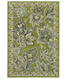 RugStudio presents Rugstudio Sample Sale 63989R Green 19300 Machine Woven, Better Quality Area Rug