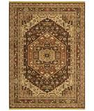 RugStudio presents Shaw Renaissance Bergamo Dark Brown 03710 Machine Woven, Best Quality Area Rug