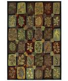 RugStudio presents Shaw Phillip Crowe Timber Creek Autumn Grove onyx-00500 Machine Woven, Better Quality Area Rug