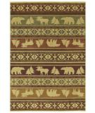 RugStudio presents Shaw Phillip Crowe Timber Creek Canyon Trail Light Multi-03110 Machine Woven, Better Quality Area Rug