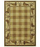 RugStudio presents Shaw Phillip Crowe Timber Creek Clearwater Cove Beige-04100 Machine Woven, Better Quality Area Rug