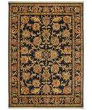 RugStudio presents Rugstudio Sample Sale 17542R Black 11500 Machine Woven, Good Quality Area Rug