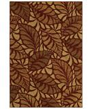 RugStudio presents Shaw Tommy Bahama Home-Nylon Painted Palms Cranberry 26800 Machine Woven, Good Quality Area Rug