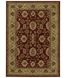 RugStudio presents Shaw Origins Palladian Cayenne Red 12800 Machine Woven, Better Quality Area Rug