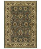 RugStudio presents Shaw Origins Palladian Lapis Blue 12600 Machine Woven, Better Quality Area Rug