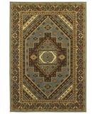 RugStudio presents Shaw Phillip Crowe Timber Creek Sedona Vintage Blue-12600 Machine Woven, Better Quality Area Rug