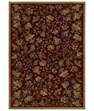 RugStudio presents Shaw Classic Style Mantova Vineyard Garnet - 34800 Machine Woven, Better Quality Area Rug