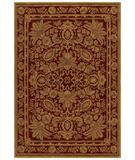 RugStudio presents Shaw Tommy Bahama Home-Nylon Vintage Lei Cranberry 24800 Machine Woven, Good Quality Area Rug