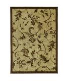 RugStudio presents Shaw Tommy Bahama Home-Nylon Garden Gate Beige 37100 Machine Woven, Good Quality Area Rug