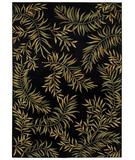 RugStudio presents Shaw Tommy Bahama Home-Olefin Leaves A Plenty Onyx-02500 Machine Woven, Best Quality Area Rug