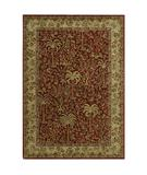 RugStudio presents Shaw Tommy Bahama Home-Nylon Monaco Palms Cranberry 28800 Machine Woven, Good Quality Area Rug