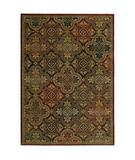 RugStudio presents Shaw Tommy Bahama Home-Nylon Moroccan Mosaic Multi 40440 Machine Woven, Good Quality Area Rug