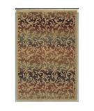 RugStudio presents Shaw Accents Ornament Natural - 12100 Machine Woven, Good Quality Area Rug