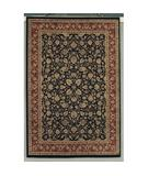 RugStudio presents Shaw Accents Roosevelt Ebony - 21500 Machine Woven, Good Quality Area Rug