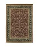 RugStudio presents Shaw Antiquities All-Over Tabriz Brick 83800 Machine Woven, Best Quality Area Rug