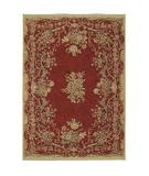 RugStudio presents Shaw Stonegate Queen Victoria Garden Red - 7800 Machine Woven, Best Quality Area Rug