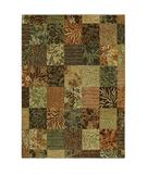 RugStudio presents Shaw Tommy Bahama Home-Nylon Batik Leaf Light Multi 33110 Machine Woven, Good Quality Area Rug