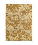 RugStudio presents Shaw Tommy Bahama Home-Nylon Bahama Bloom Beige 41100 Machine Woven, Good Quality Area Rug
