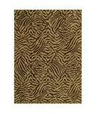 RugStudio presents Shaw Tommy Bahama Home-Nylon West Indies Safari Dark Brown 32710 Machine Woven, Good Quality Area Rug