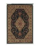 RugStudio presents Shaw Accents Antiquity Ebony - 00500 Machine Woven, Good Quality Area Rug