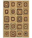 RugStudio presents Shaw Angela Adams Ninna Beige 12100 Machine Woven, Good Quality Area Rug