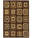 RugStudio presents Shaw Angela Adams Ninna Brown 12700 Machine Woven, Good Quality Area Rug