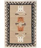 RugStudio presents Southwest Looms Dreamcatcher Cattle Call N-11B Flat-Woven Area Rug