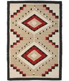 RugStudio presents Southwest Looms Dreamcatcher Ganado N-01 Flat-Woven Area Rug