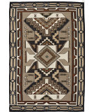RugStudio presents Southwest Looms Dreamcatcher Teec Nos Pos N-19 Flat-Woven Area Rug