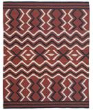 RugStudio presents Southwest Looms Dreamcatcher Serape N-9 Flat-Woven Area Rug