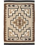 RugStudio presents Southwest Looms Dreamcatcher Grey Hills N-02 Flat-Woven Area Rug