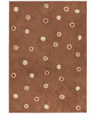 RugStudio presents St. Croix Carousel Chocolate Dots Cc12 Brown Woven Area Rug