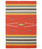 RugStudio presents St. Croix Sedona Cfb04 Orange Flat-Woven Area Rug
