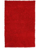 RugStudio presents St. Croix Shagadelic Chenille Twist Chs13 Red Area Rug