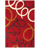 RugStudio presents St. Croix Structure Laurel Ct52 Red Hand-Tufted, Good Quality Area Rug