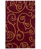 RugStudio presents St. Croix Structure Archer Ct55 Burgundy Hand-Tufted, Best Quality Area Rug