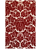 RugStudio presents St. Croix Structure Fenway Ct66 Red Hand-Tufted, Good Quality Area Rug