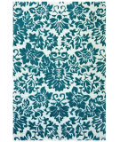 RugStudio presents St. Croix Structure Fenway Ct67 Aqua Hand-Tufted, Good Quality Area Rug